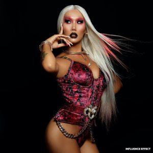 Gia Gunn @gia_gunn Photographer Chris Martin @bychrismartin INFLUENCE EFFECT Photoshoot Celebrity Drag Queen